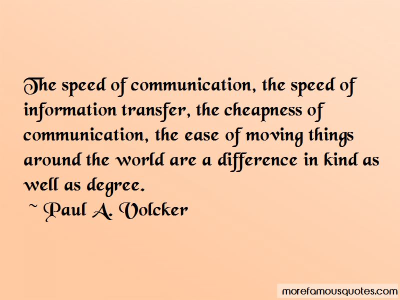 Paul A. Volcker Quotes Pictures 2