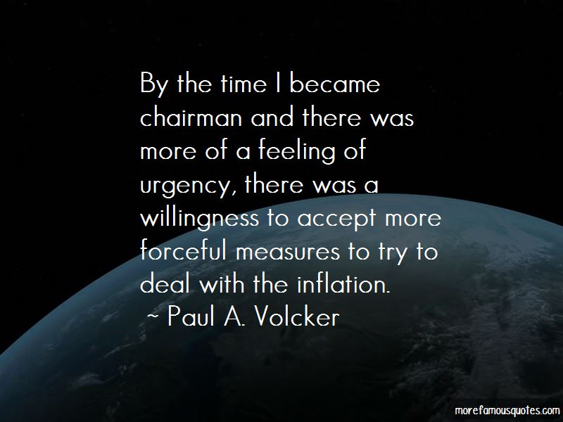 Paul A. Volcker Quotes Pictures 4