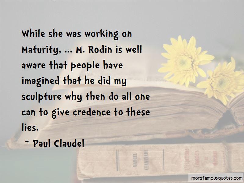 Paul Claudel Quotes Pictures 2