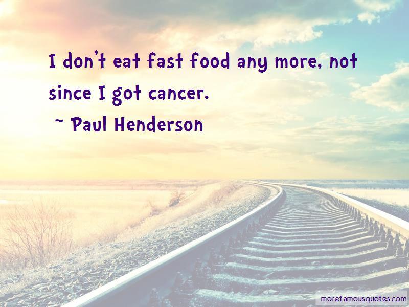 Paul Henderson Quotes