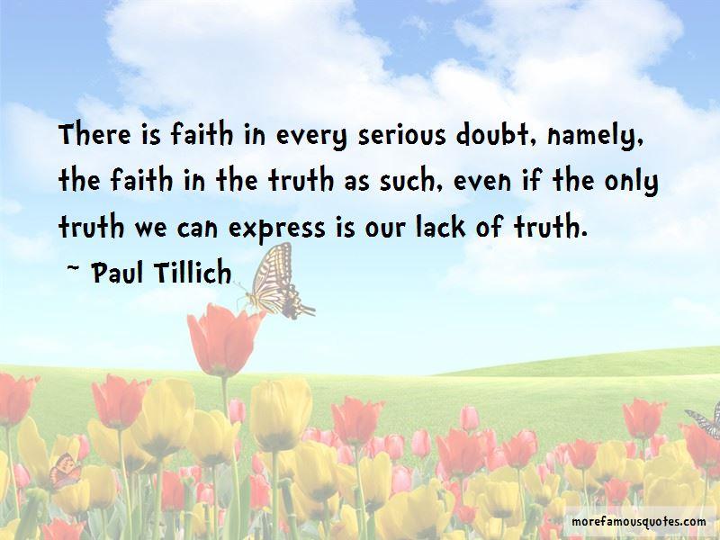 Paul Tillich Quotes Pictures 2