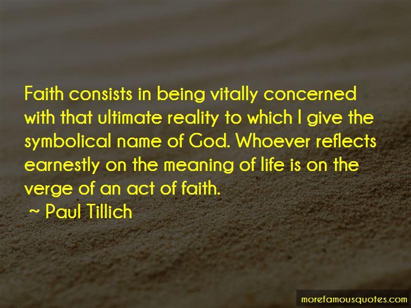 Paul Tillich Quotes