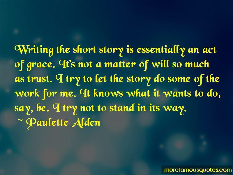 Paulette Alden Quotes Pictures 3