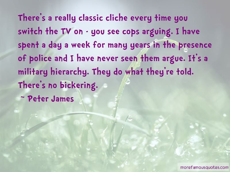 Peter James Quotes