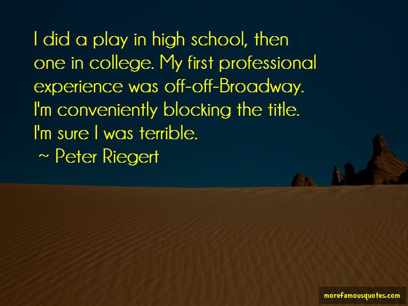 Peter Riegert Quotes Pictures 2