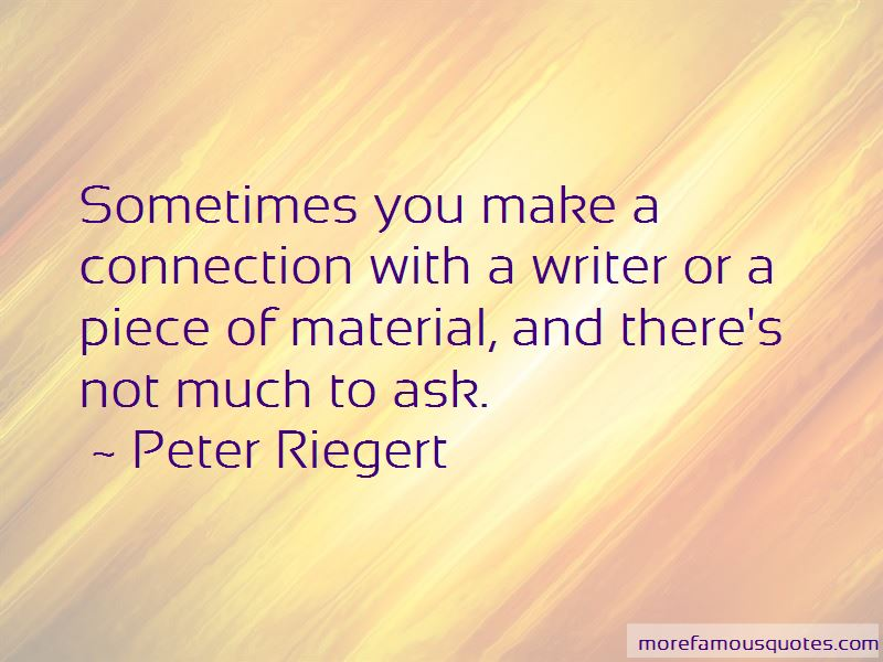 Peter Riegert Quotes Pictures 4