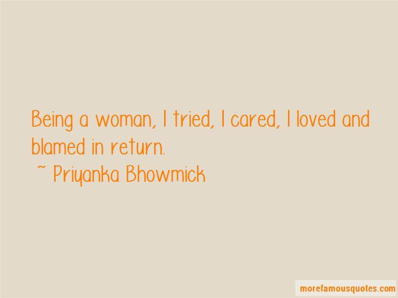 Priyanka Bhowmick Quotes