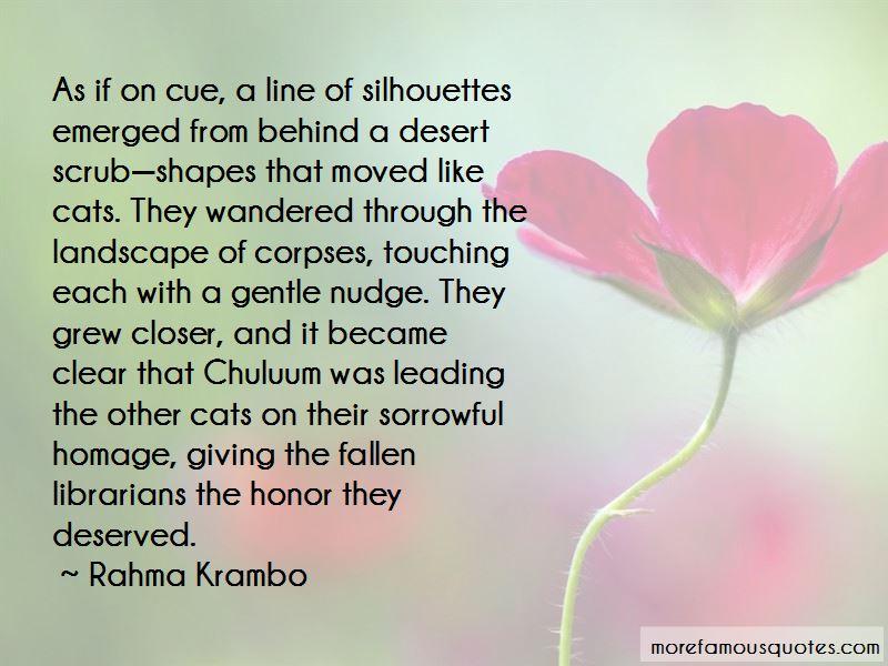 Rahma Krambo Quotes Pictures 3