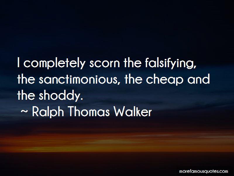 Ralph Thomas Walker Quotes