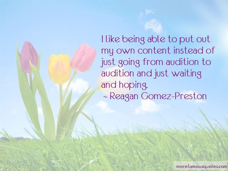 Reagan Gomez-Preston Quotes Pictures 2