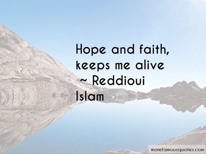 Reddioui Islam Quotes