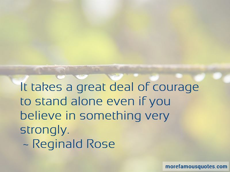 Reginald Rose Quotes Pictures 2