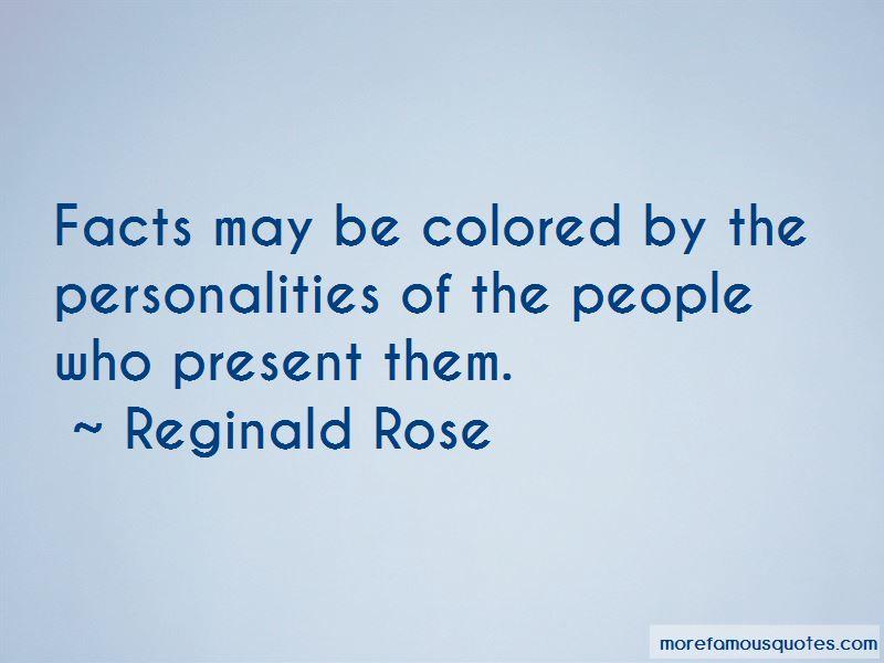 Reginald Rose Quotes Pictures 3