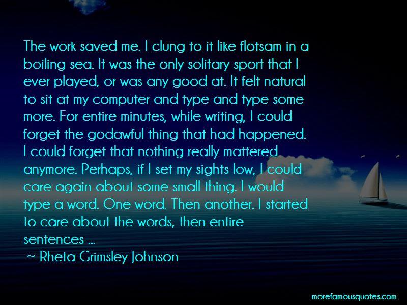 Rheta Grimsley Johnson Quotes Pictures 2