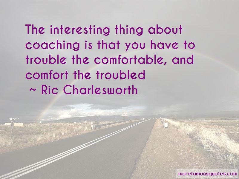 Ric Charlesworth Quotes