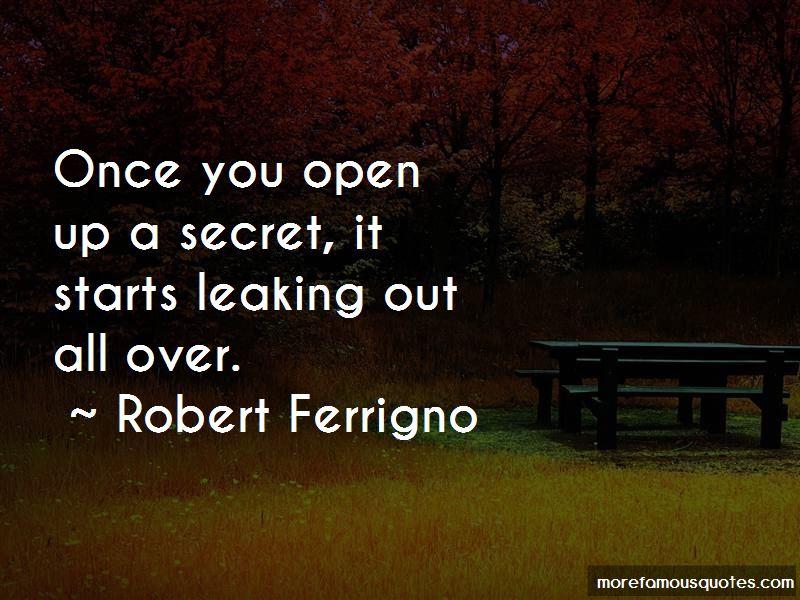 Robert Ferrigno Quotes Pictures 3