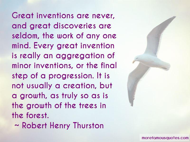 Robert Henry Thurston Quotes