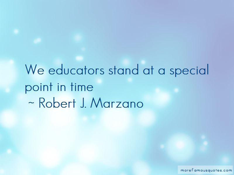 Robert J. Marzano Quotes