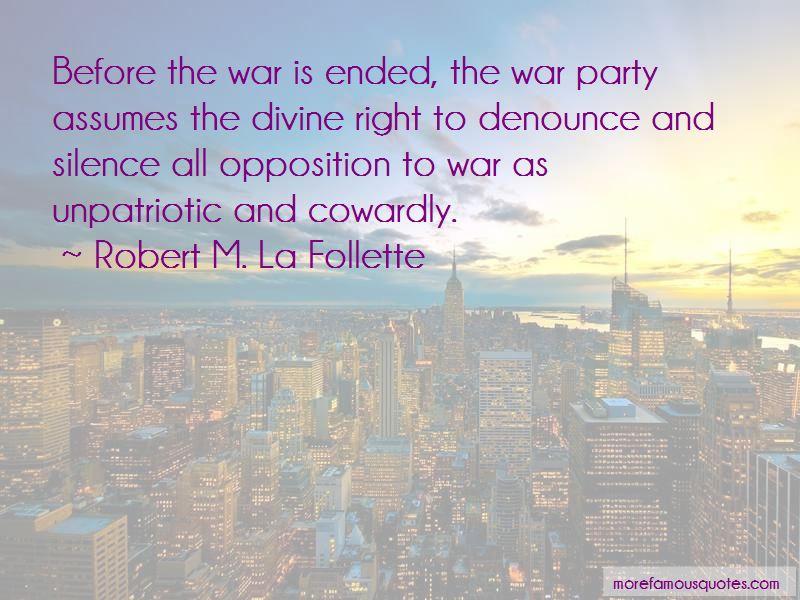 Robert M. La Follette Quotes Pictures 2