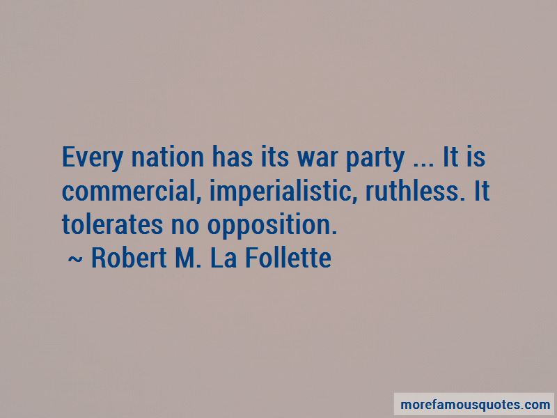 Robert M. La Follette Quotes Pictures 4