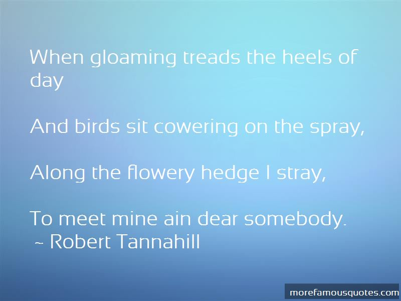 Robert Tannahill Quotes