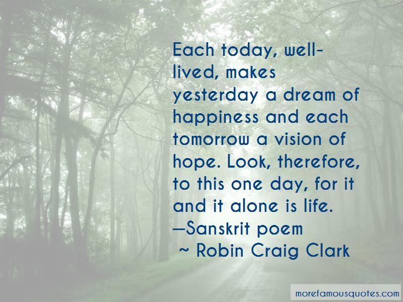 Robin Craig Clark Quotes Pictures 4