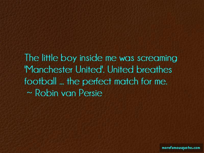 Robin Van Persie Quotes