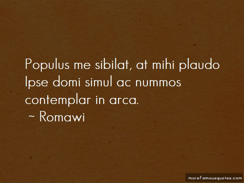 Romawi Quotes