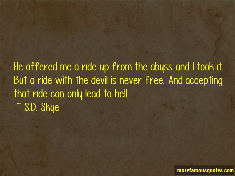 S.D. Skye Quotes
