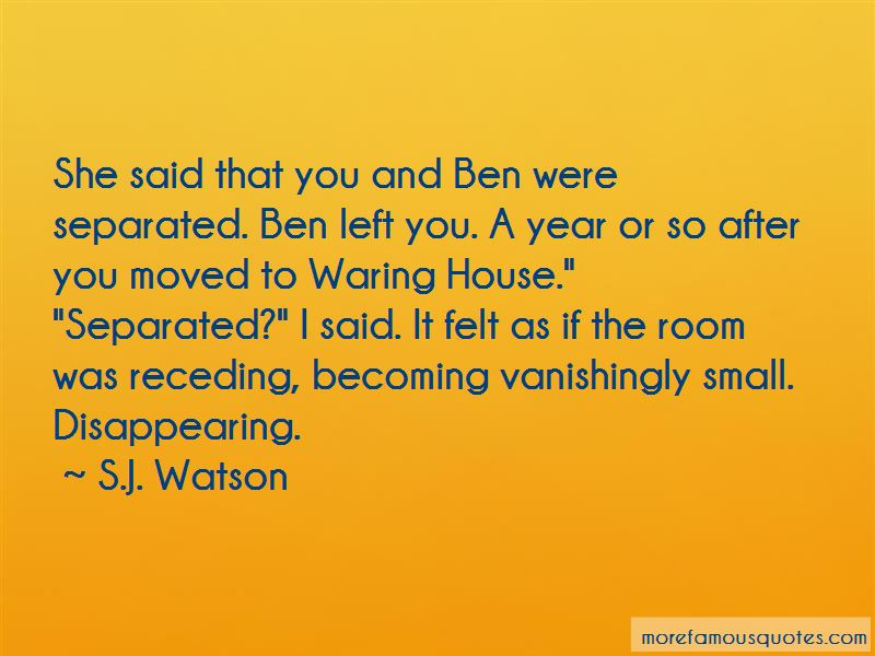 S.J. Watson Quotes Pictures 3