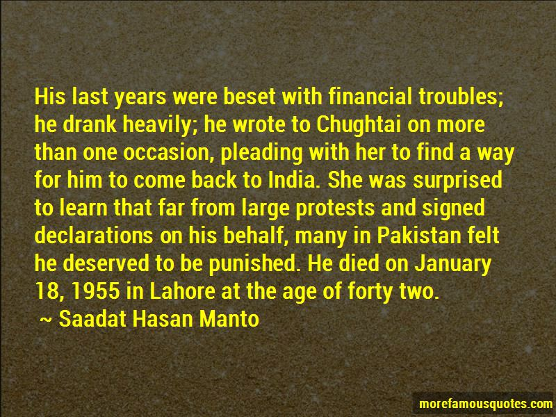Saadat Hasan Manto Quotes