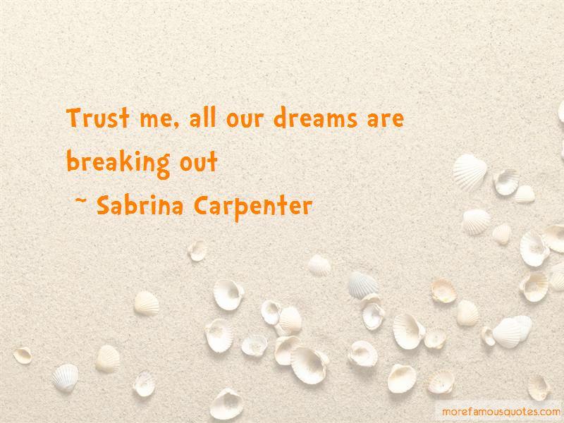 Sabrina Carpenter Quotes