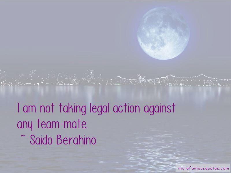 Saido Berahino Quotes