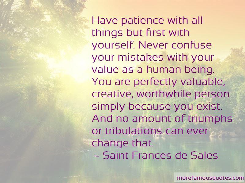 Saint Frances De Sales Quotes