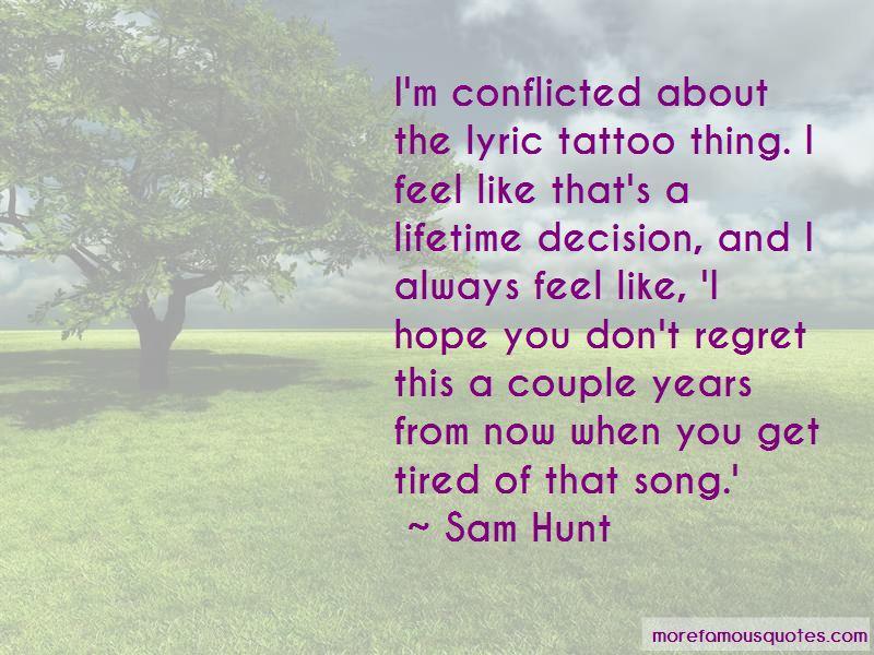 Sam Hunt Quotes Pictures 2