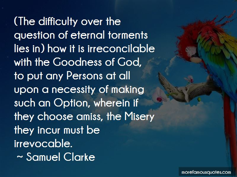 Samuel Clarke Quotes