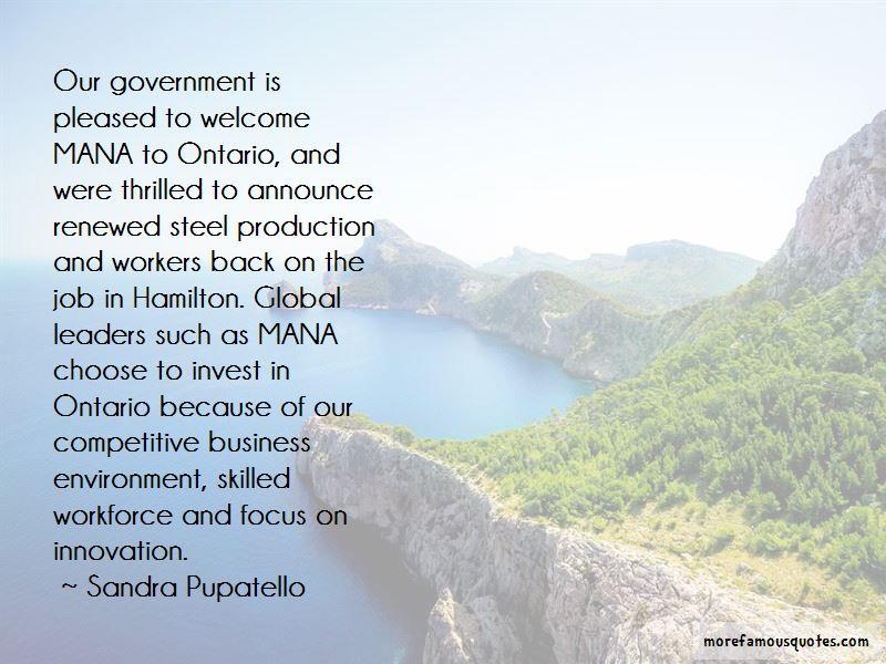 Sandra Pupatello Quotes Pictures 2