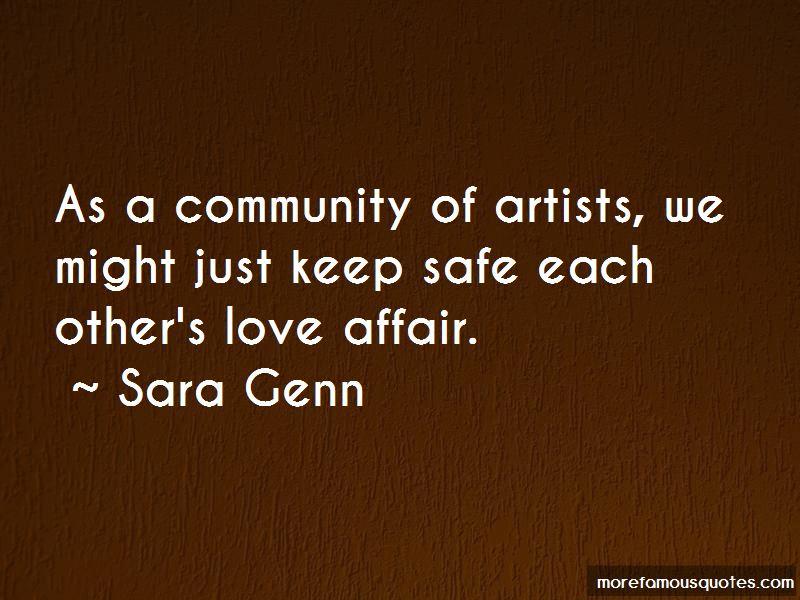 Sara Genn Quotes Pictures 4