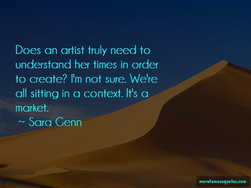 Sara Genn Quotes