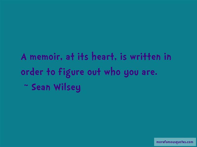 Sean Wilsey Quotes Pictures 3