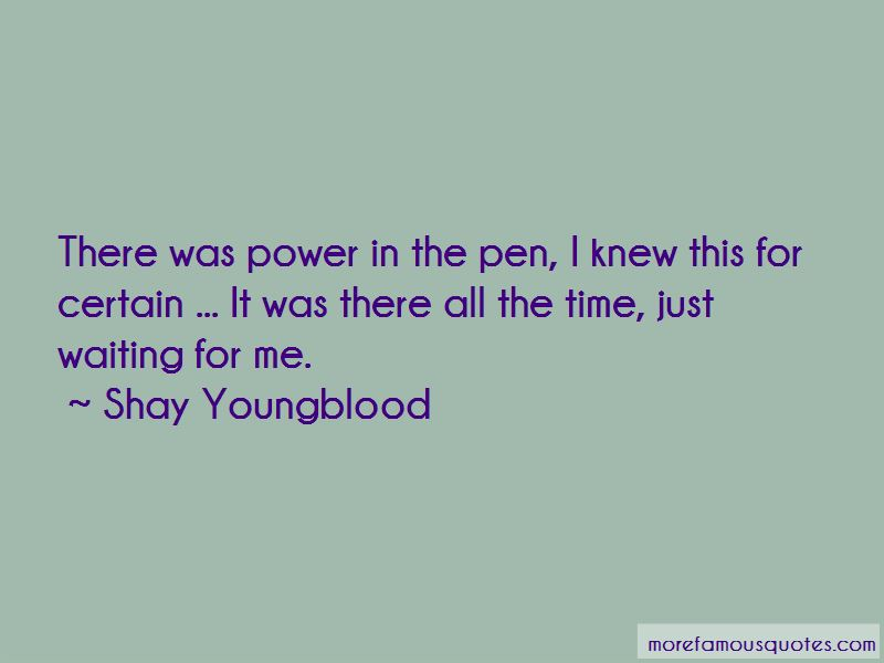 Shay Youngblood Quotes Pictures 2