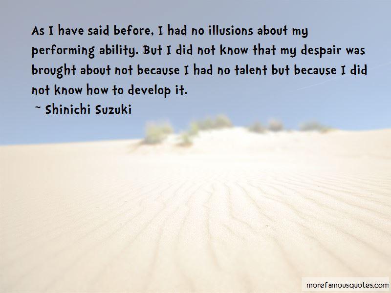 Shinichi Suzuki Quotes Pictures 2