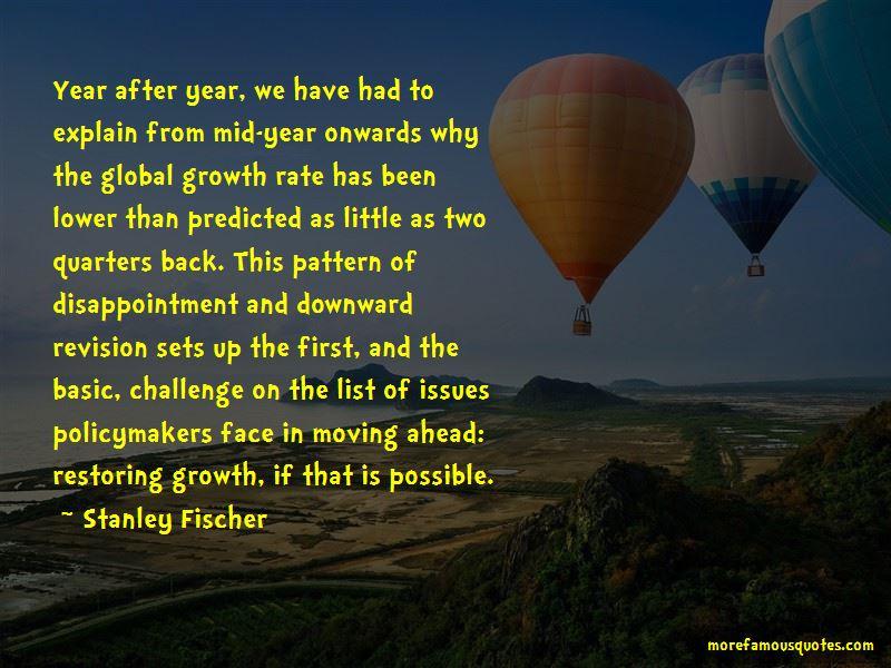 Stanley Fischer Quotes