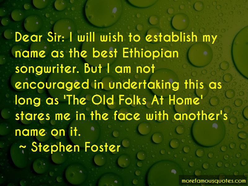 Stephen Foster Quotes Pictures 2