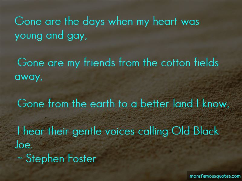Stephen Foster Quotes