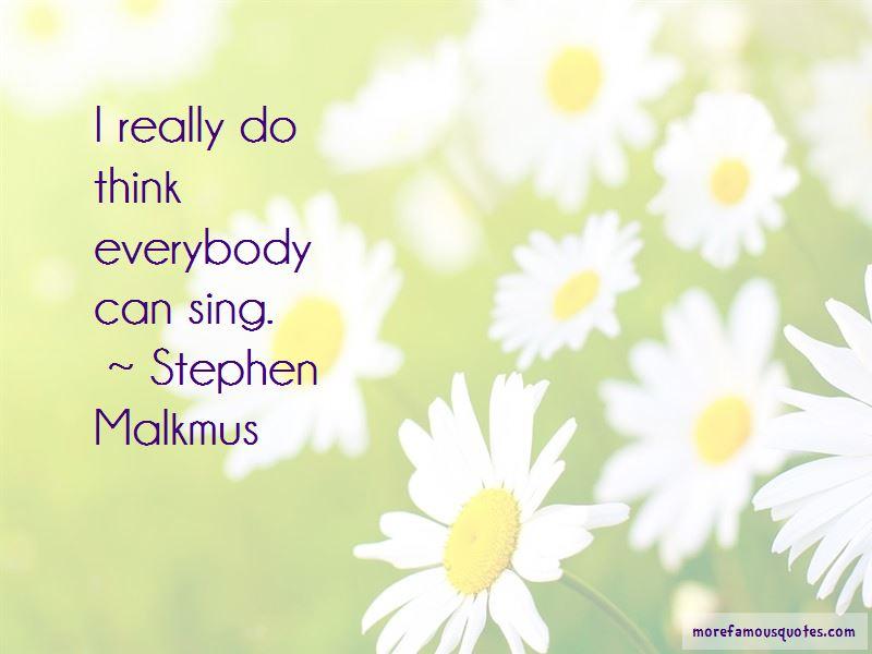 Stephen Malkmus Quotes Pictures 4