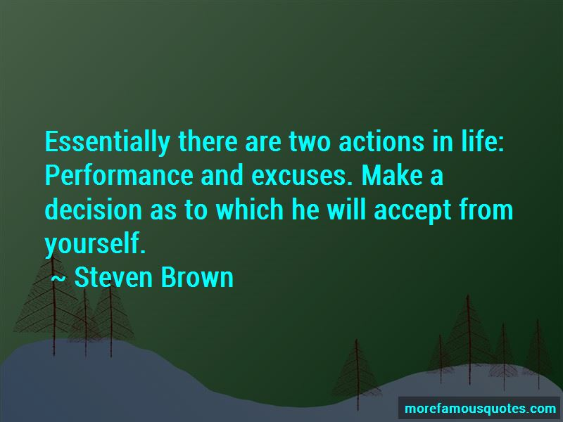 Steven Brown Quotes