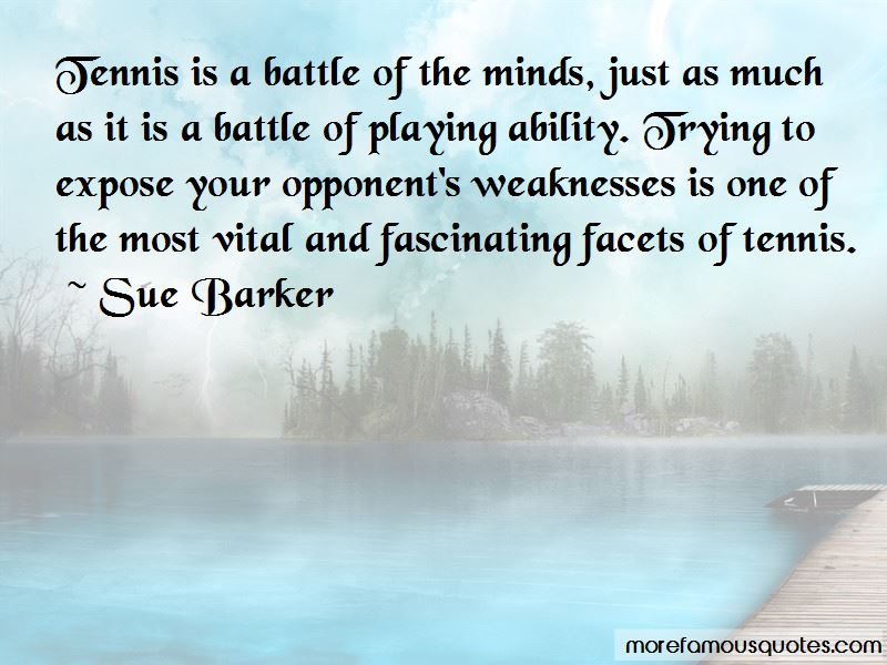Sue Barker Quotes Pictures 4