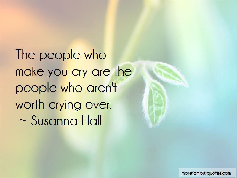 Susanna Hall Quotes