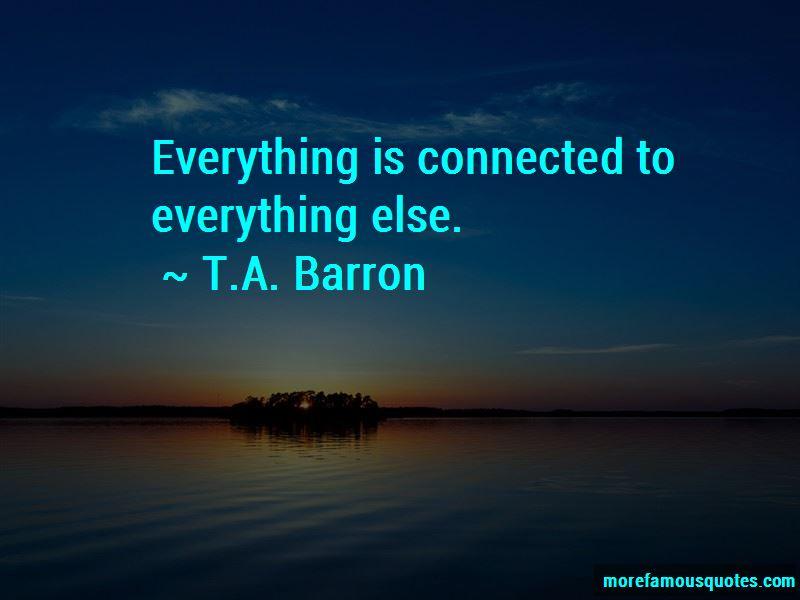 T.A. Barron Quotes